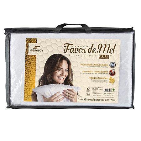 Travesseiro Favos De Mel Alto 50X70 4945 - Fibrasca