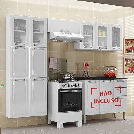 Cozinha Itatiaia Luce Compacta 3 Pecas 5 Vidros Branco