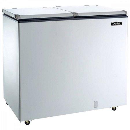 Freezer Horizontal Esmaltec 2 Portas EFH350 Capacidade líquida 303 Litros - Branco