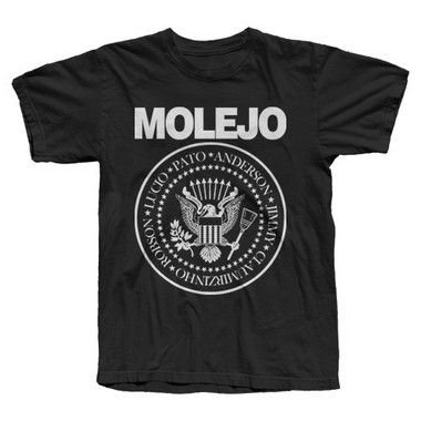 Molejo, Ramones - Camiseta