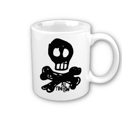 Caneca All Time Low, Skully