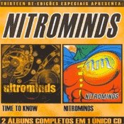 CD Nitrominds, 2 álbuns em 1 CD (Time to Know e Nitrominds)