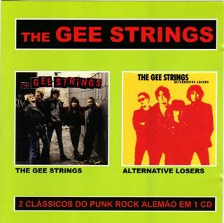 CD The Gee Strings, The Gee Strings e Alternative Losers (2 álbuns em 1 CD)