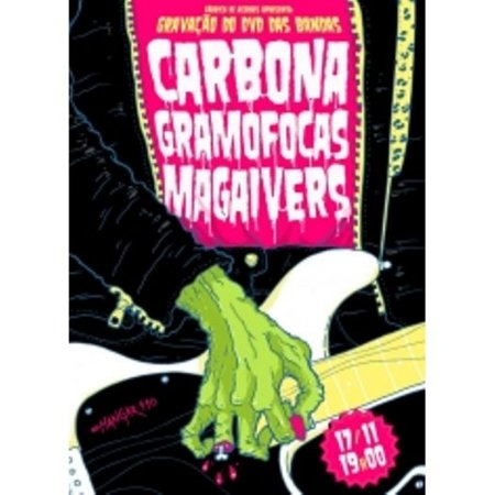 DVD Carbona + Gramofocas + Magaivers