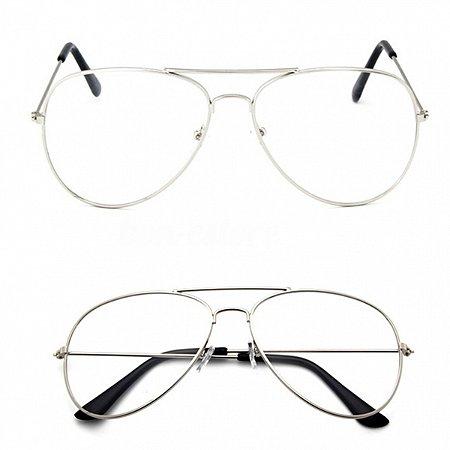 Óculos Retro Aviator Pilot