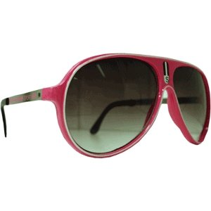 Óculos Sport - Rosa - Borda Branca