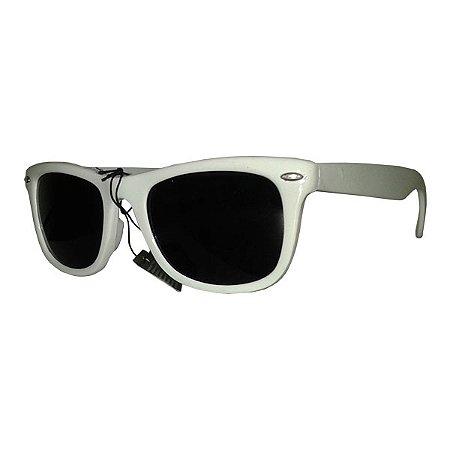 Óculos Retro - Branco