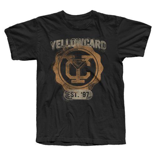 Camiseta Yellowcard, College