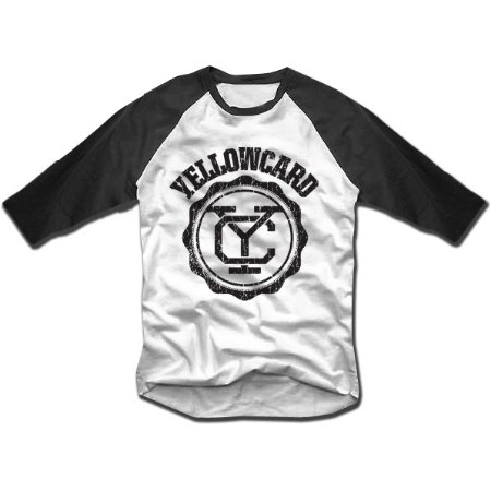 Camiseta Yellowcard, Baseball - Raglan
