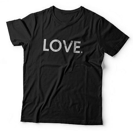 Camiseta Love - Preta