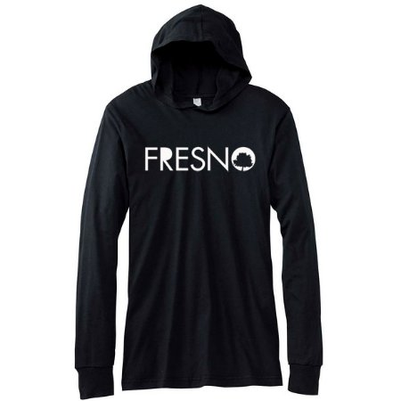 Camiseta Fresno, Árvore -  Manga Comprida Capuz