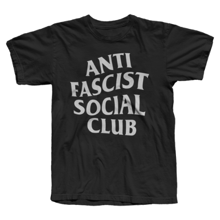 Camiseta Anti Fascist Social Club