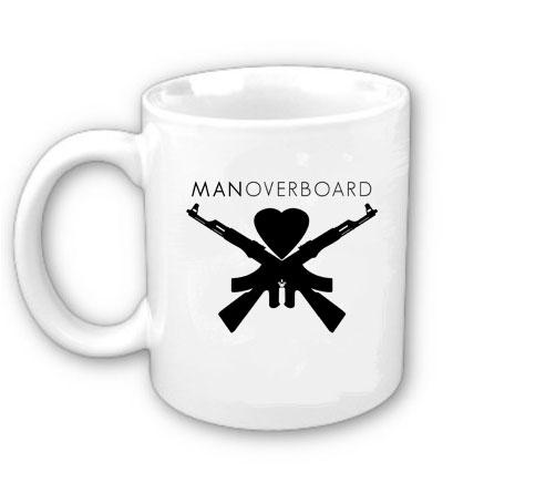 Caneca Man Overboard, Logo