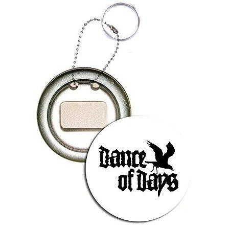 Chaveiro Abridor de Garrafa Dance of Days, Corvo