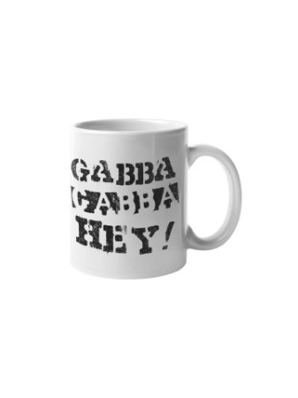 Caneca Gabba Gabba Hey!
