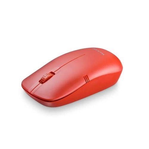 Mouse Sem Fio 2,4GHz Multilaser Vermelho 1200dpi MO289