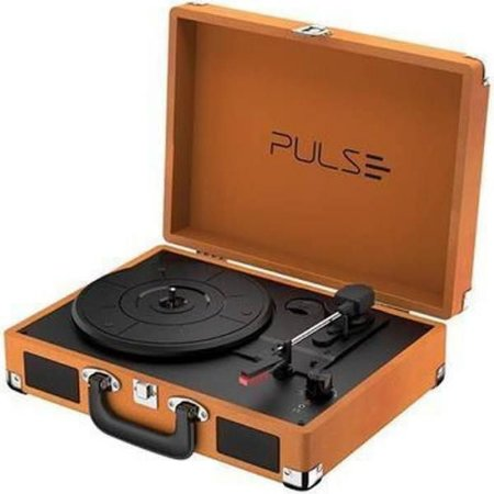 Vitrola Retrô Bluetooth Pulse