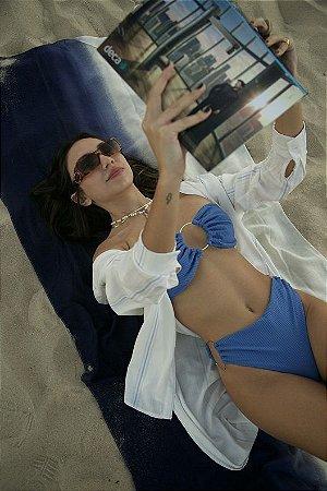 Biquini Mariah  Azul Canelado