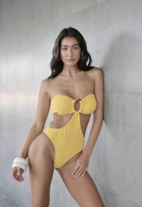 Maiô Chloe Amarelo
