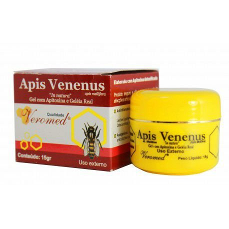 Gel com Apitoxina e Geléia Real - Apis Venenus - 15g