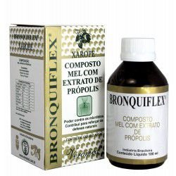 Xarope Bronquiflex - Composto Mel com Extrato de Própolis - 100mL