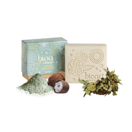 Barra de Tratamento Detox (Argila verde + Chá verde) - Bioart