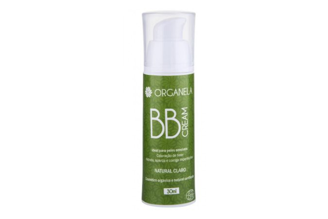 BB Cream Orgânico  - Natural Claro - Organela