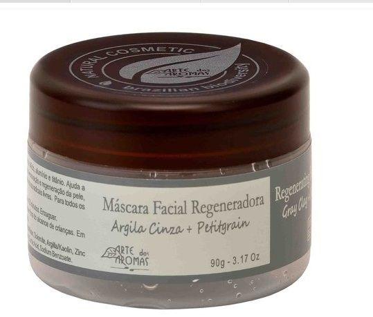 Máscara Argila Cinza 90g -Arte dos Aromas