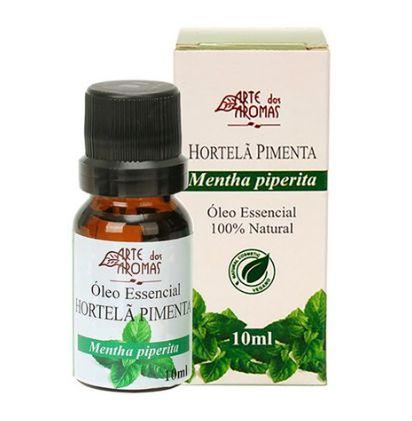 Óleo Essencial Hortela Pimenta 10mL  - Arte dos Aromas