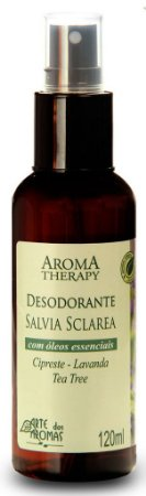 Desodorante Natural Spray Sálvia 120mL  - Arte dos Aromas