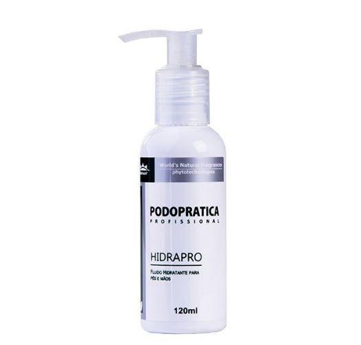 Hidrapro - Fluido de hidratação para mãos e pés - Podoprática WNF - 120ml