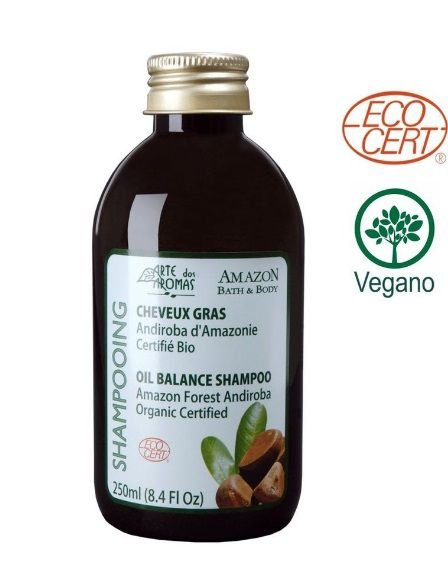 Shampoo Orgânico Andiroba 250mL - Arte dos Aromas