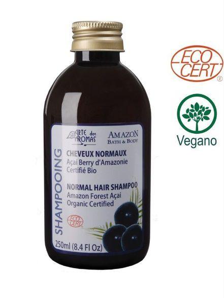 Shampoo Orgânico Açai 250mL – Arte dos Aromas