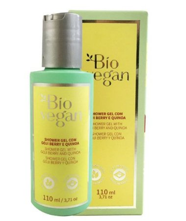 Shower Gel Sulfato Free, Natural e Vegano com Goji Berry e Quinoa 110 mL – Bio Vegan