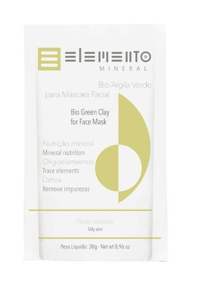 Bio Argila Verde 30g – Elemento Mineral