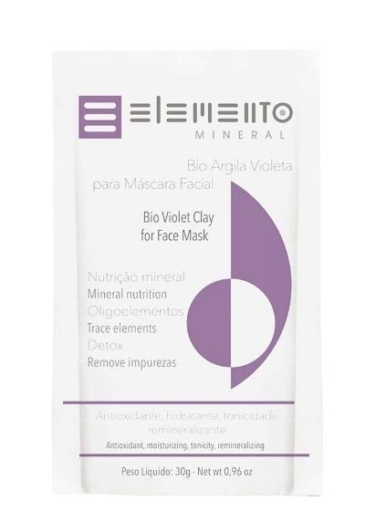 Bio Argila Violeta 30g – Elemento Mineral