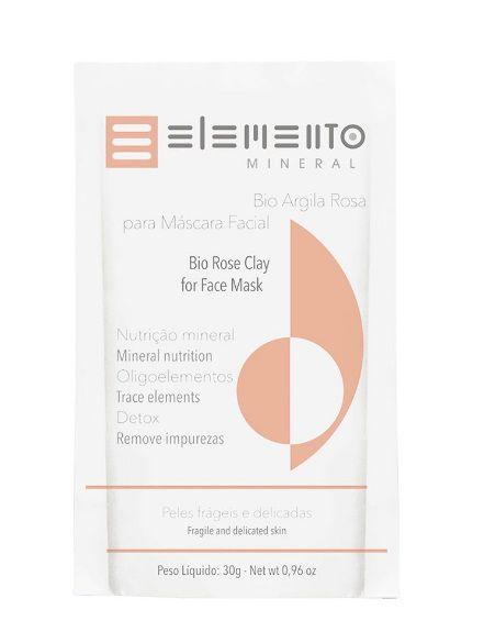 Bio Argila Rosa 30g – Elemento Mineral
