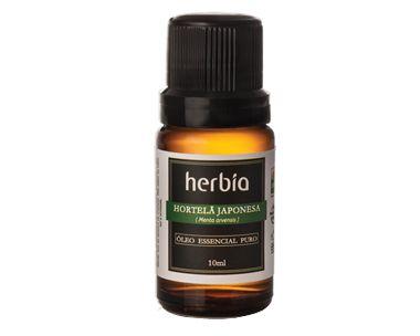 Óleo Essencial de Hortelã (Menta arvensis)  10 ml - Herbia