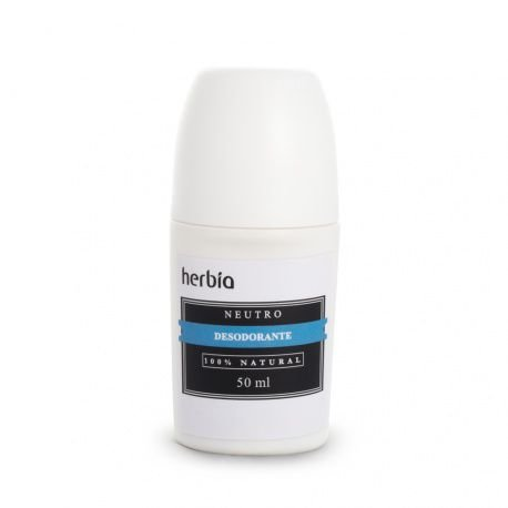 Desodorante Natural  Neutro - Herbia