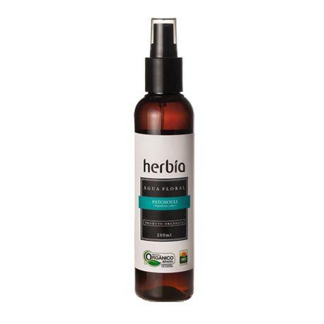 Água Floral de Patchouli Orgânica (Pogostemon cablin) - Herbia