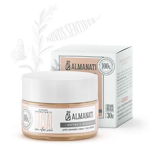 Creme Hidratante Facial 30g - Almanati
