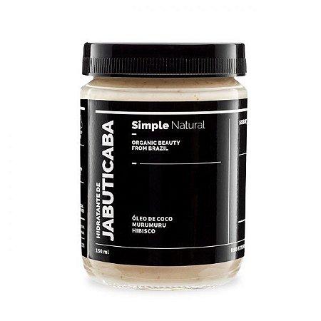 Hidratante de Jabuticaba - Simple Organic