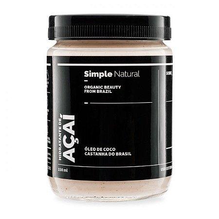 Hidratante de Açaí - Simple Organic