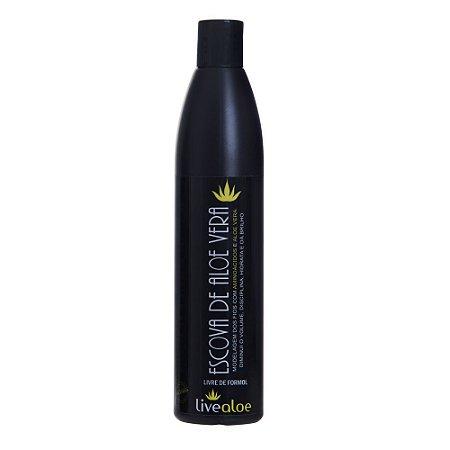 Escova de Aloe Vera – Livealoe - 500 ml