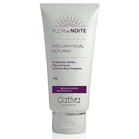 Mascara Noturna Facial Flor da Noite Natural Orgânica Vegana - Cativa Natureza