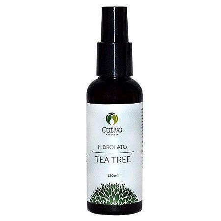 Hidrolato de Tea Tree Organico Natural Vegano - Cativa Natureza