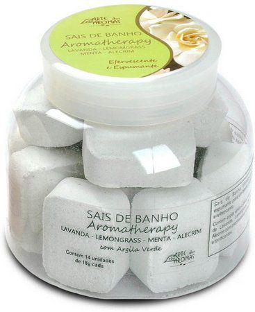 Sais De Banho Lemongrass C/14UN - Arte dos Aromas