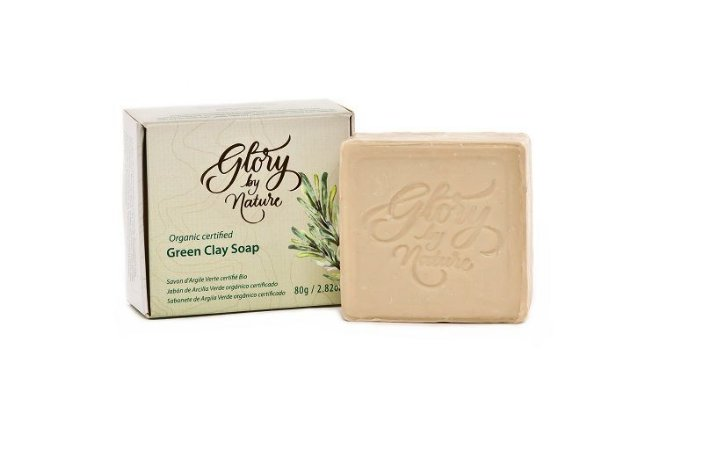 Sabonete em Barra Argila Verde 80g - Glory By Nature