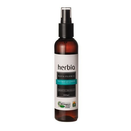 Água Floral de Tea Tree QT Cineol 200 ml - Herbia