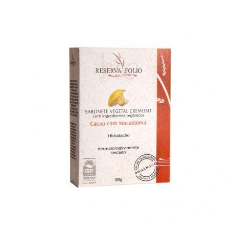 Sabonete Cremoso - Reserva Folio Macadâmia 100g